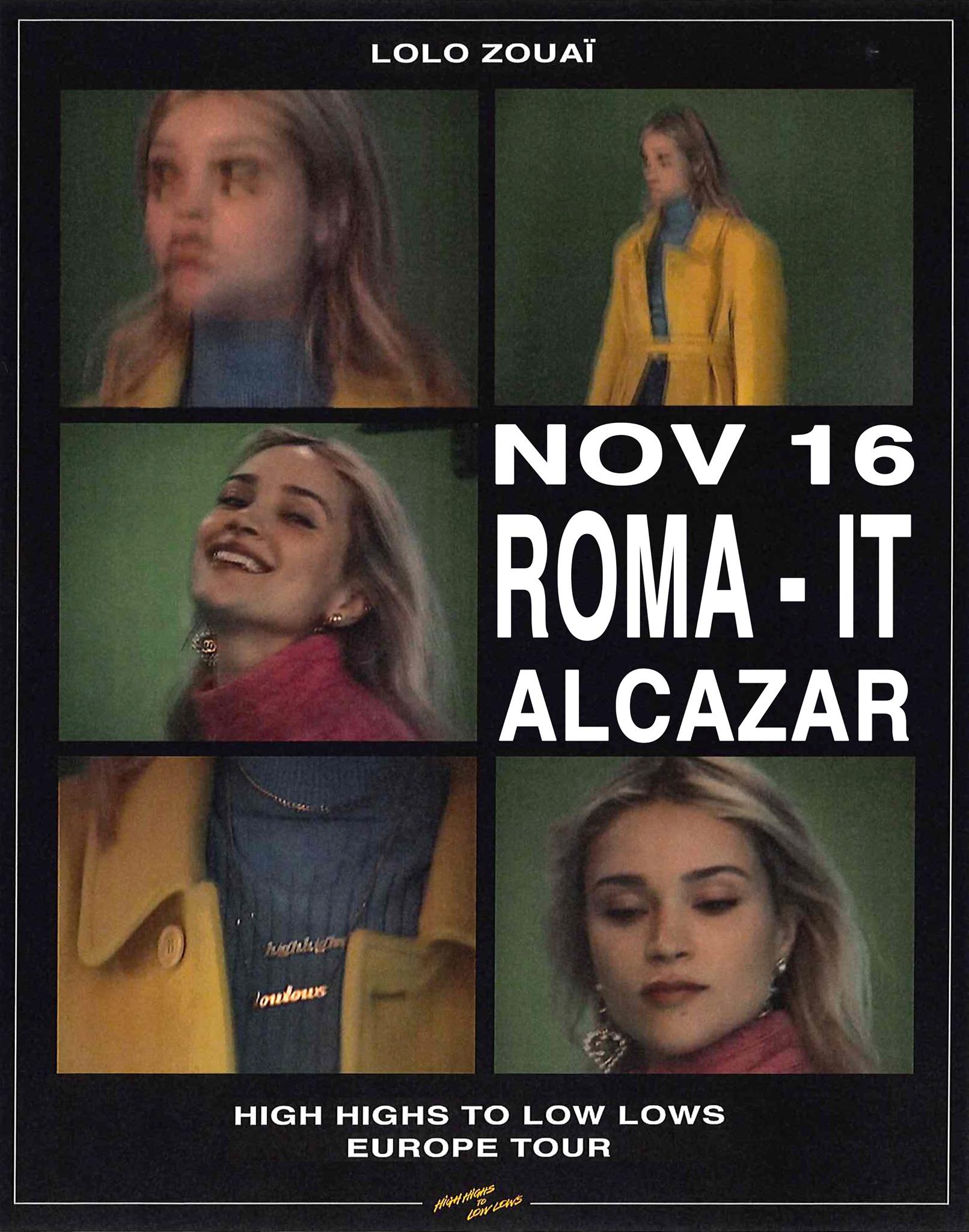 Lolo Zouai Alcazar Roma